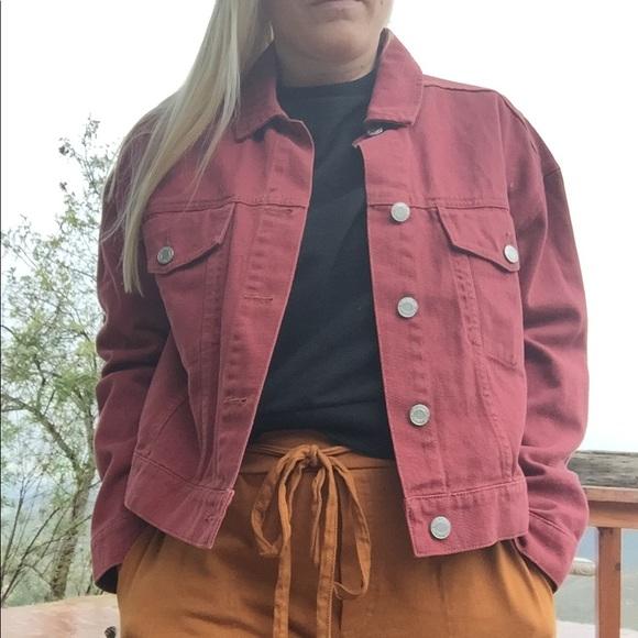 Frank & Oak Oversized Denim Jacket